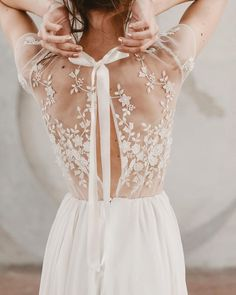 Wonderful Perfect Wedding Dress For The Bride Ideas. Ineffable Perfect Wedding Dress For The Bride Ideas. Bridal Gowns, Wedding Gowns, Wedding Lace, Wedding Bells, Delicate Wedding Dress, Lace Back Wedding Dress, Wedding Ceremony, Detailed Wedding Dresses, Petite Wedding Dresses