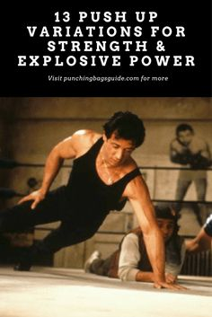 Learn killer push-up variations that will develop your explosive power and strength to throw more powerful and dynamic punches. Push Up Workout, Mma Workout, Best Workout Routine, Calisthenics Workout, Hard Workout, Plyometrics, Boxing Workout, Workout Ideas, Workout Plans