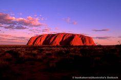 赤い存在--ウルル(エアーズロック) Uluru
