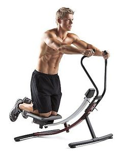 Home Gym Abs Glider Abdominal Workout Exercise Equipment Fitness ...