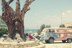 Ultieme hippie vibe // Matala, Griekenland - Moderne Hippies