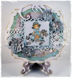 Project using Magnolia Mini Stamps from http://www.magnoliastamps.us/ #cards #crafts  more info at http://wwwsuzies.blogspot.com