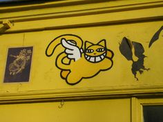 M.CHAT ( Thoma Vuille ). Street art 000