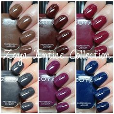 the mercurial magpie: Zoya Entice Collection Fall 2014 Swatches & Review