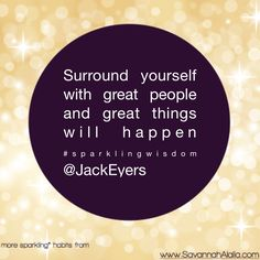 GREAT PEOPLE = GREAT THINGS