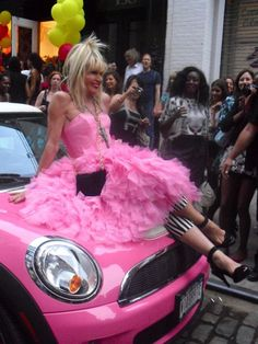 betsey johnson is the bomb!!!!!! she's so funky and fashionable! all time fav designer! and i love this dress!