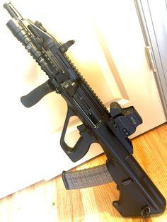 [Gun] Steyr AUG A3 CQC [OC][1212x1616] - Imgur