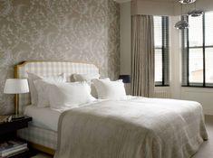 Limited pattern bedroom wallpaper