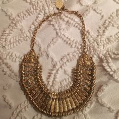 Urban outfitters gold Turkish necklace Never worn perfect condition and no tarnishing its a matte gold✨ Urban Outfitters Jewelry Necklaces