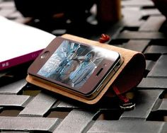 Leather Arc Cover For iPhone By Evouni – $45