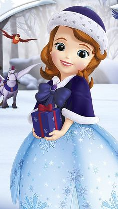 Sofia The First Cartoon, Sofia The First Characters, Baby Disney Characters, Disney Princess Pictures, Princess Cartoon, Disney Princess Dresses, Princess Sofia Birthday, Princess Sofia The First, Disney Junior
