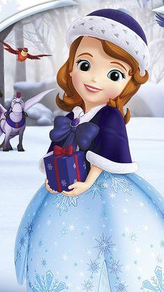 Disney Princess Pictures, Princess Cartoon, Disney Princess Dresses, Disney Princesses And Princes, Sofia The First Characters, Baby Disney Characters, Princess Sofia Birthday, Princess Sofia The First, Disney Junior