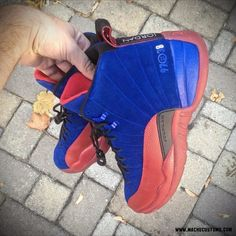 "Air Jordan 12 ""Sixers"" by Mache Customs for Tony Wroten"