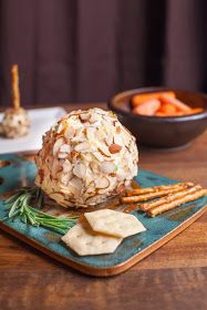 12 Days of Christmas Treats Day 2: Homemade Cheese Ball perfect for any party