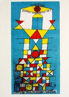 paul Klee line - shape - colour
