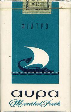 Avra Filtro 20GR198? Vintage Advertising Posters, Old Advertisements, Vintage Posters, Retro Design, Vintage Designs, Vintage Paper, Retro Vintage, Cigarette Brands, Packaging Design