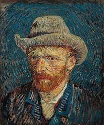 Self-Portrait with Felt Hat, Vincent van Gogh, 1888. Van Gogh Museum, Amsterdam