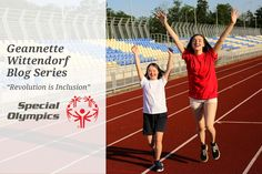 "Geannette Wittendorf Releases Series Celebrating Special Olympics & Their ""Revolution on Inclusion"" Special Olympics, Athletes, Revolution, Families, My Life, Writer, Campaign, Posts, Learning"