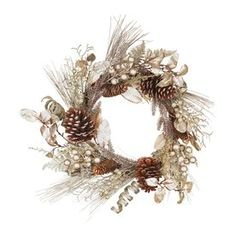Oddity 1 Pine Indoor/Outdoor Artificial Christmas Wreath