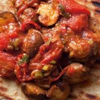 Nigel Slater's Spiced Mushrooms on Naan Recipe - NDTV