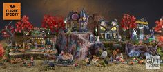 Let's not forget our traditional spooky Halloween items. In our Classic Spooky collection, we selected some spooky and fun items to add to everyone's village collection.
