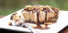 The Gluten Free Spinner's peanut butter pie will please any palate.  Source: Gluten Free Spinner