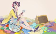 """pomodorosa Original Artwork Book """"Music, Fashion and Girl"""" Come out in April 25, 2015 from Ichijinsya"""