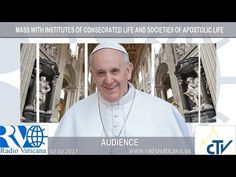 LIVE BROADCAST: Pope Francis presides over the Mass of the World Day for Consecrated Life - ROME REPORTS