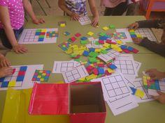 MI MOCHILA DE RECURSOS: JUEGO LÓGICA-MATEMÁTICA Preschool Math, Kindergarten Activities, Toddler Preschool, Learning Activities, Senior Activities, Craft Activities For Kids, Busy Boxes, Cooperative Learning, Baby Play