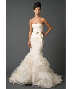 Vera Wang's Gemma Wedding Dress - the same dress Hilary Duff wore for her wedding FYI