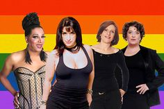 Sivlvetty Montilla, Grace Gianoukas, Agnes Zuliani e Mila Ribeiro: Terça Insana participa da Semana do Orgulho Gay (Foto: Divulgação)