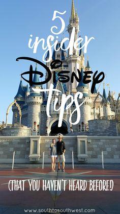 5 Insider Disney Tips