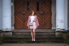 Kwiatowe motywy stylizacji na wiosnę | Spódnica i szpilki w kwiatowy wzór - Annastylefashion Shirt Dress, Blog, Shirts, Dresses, Fashion, Vestidos, Moda, Shirtdress, Fashion Styles