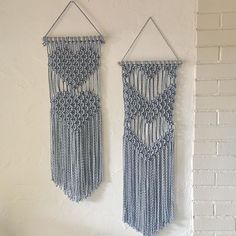 Macrame Wall Hanging Patterns, Macrame Plant Hangers, Macrame Art, Macrame Design, Macrame Projects, Macrame Knots, Macrame Patterns, Micro Macrame, Hanging Tapestry