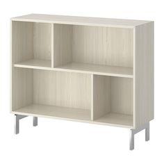 VALJE Hylde IKEA Asymmetrisk opbevaringsløsning, der bli'r personlig, når du sætter dine ting i den.