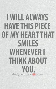 U make my ♡ smile.