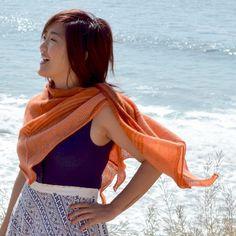Essential shawl for travel.