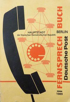 Deutsche Post: Fernsprechbuch Berlin - Haupstadt der DDR. 1989. [found at rawdraw.favorite]