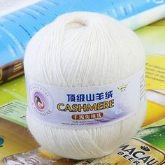 Black Friday is around the corner, check this out Cashmere Knitting...  Get it while it's hot  http://millies-little-corner.com/products/cashmere-knitting-yarn-white-violet-purple-dark-grey-neon-orange-orchid-grey-beige?utm_campaign=social_autopilot&utm_source=pin&utm_medium=pin