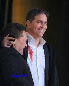 Jim Caviezel and Kevin Chapman