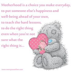 To my Chipmunks. Son Quotes, Sweet Quotes, Cute Quotes, Teddy Bear Quotes, Thinking Of You Quotes, Teddy Bear Pictures, Bear Pics, Blue Nose Friends, Quotes About Motherhood