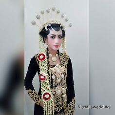 Mba Endah Resepsi Solo Putri |Rias by : Hj. Tati... #wedding #weddings