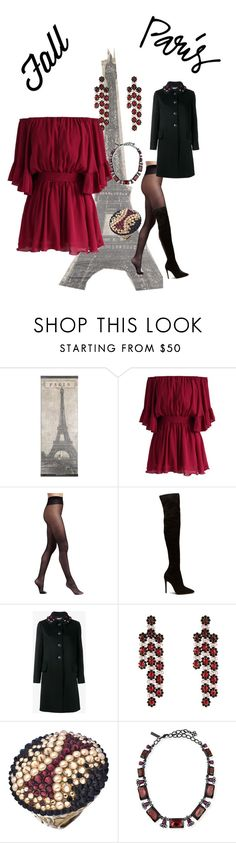 """""""Untitled #793"""" by george-isaacs ❤ liked on Polyvore featuring Chicwish, Wolford, Miu Miu, Simone Rocha, Jimmy Crystal and Oscar de la Renta"""