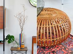 modern findings: there's something about that weird ottoman thing on the right that just gets me even though it would probably die in our house in under a day