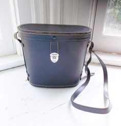 Vintage Binocular Case as a purse or cross body bag...cute!!