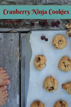 Cranberry chickpea cookies, hiding vegetables in baking, chickpeas in baked goods, healthy cookie Healthy Cookie Recipes, Healthy Meals For One, Gf Recipes, Healthy Cookies, Healthy Eats, Chickpea Cookies, Hidden Vegetables, Gluten Free Cookies, Food Allergies