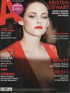 Kristen Stewart  anna Magazine (Italy)  November 2012