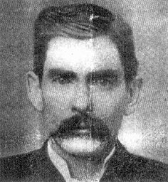 1851-08-14 John Henry 'Doc' Holiday born in Griffin, GA died 1887-08-14 age 36