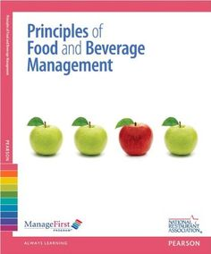 ManageFirst: Principles of Food and Beverage Management with Answer Sheet (2nd Edition) (Managefirst Program)