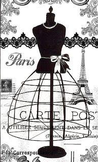 Arte com Encanto by Vastí Fernandes: Imagens Vintage Paris